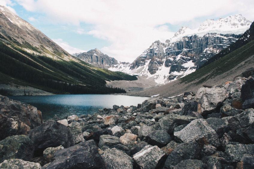 Consolation Lakes at Moraine Lake