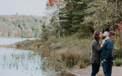 Jesse & Olivia // Algonquin Park Engagement