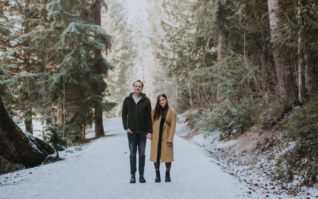 Wintery Couples Photos // Lost Lake, Whistler