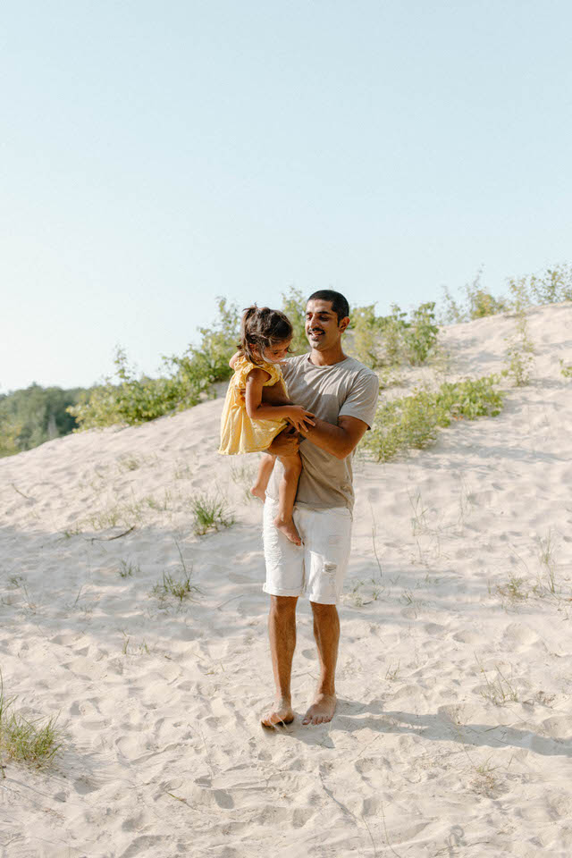 wasaga beach family photo session