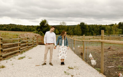 The Blue Mountains Engagement // Lauren + Scott