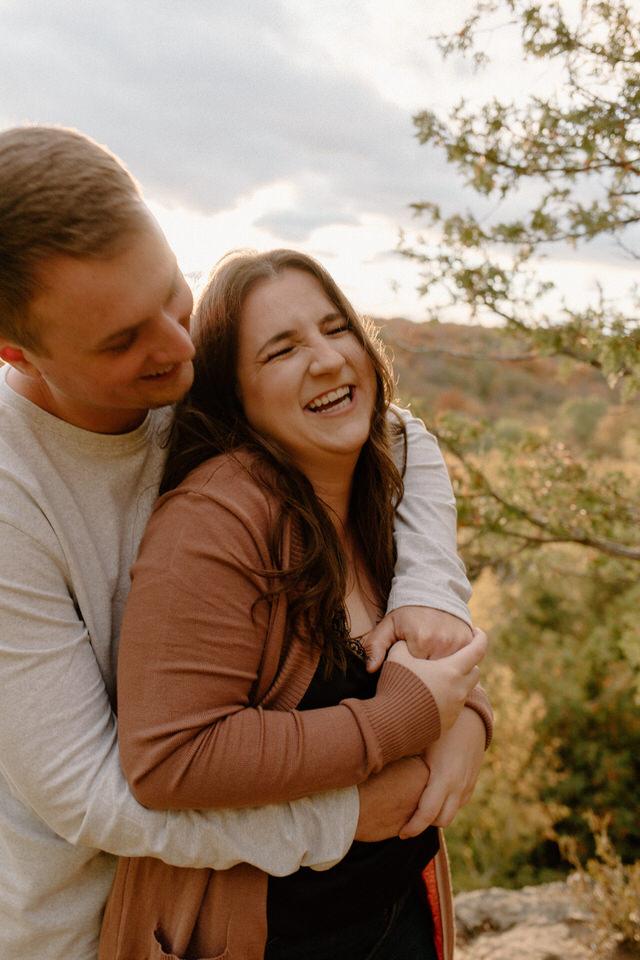 Nottawasaga Bluffs Couples Session