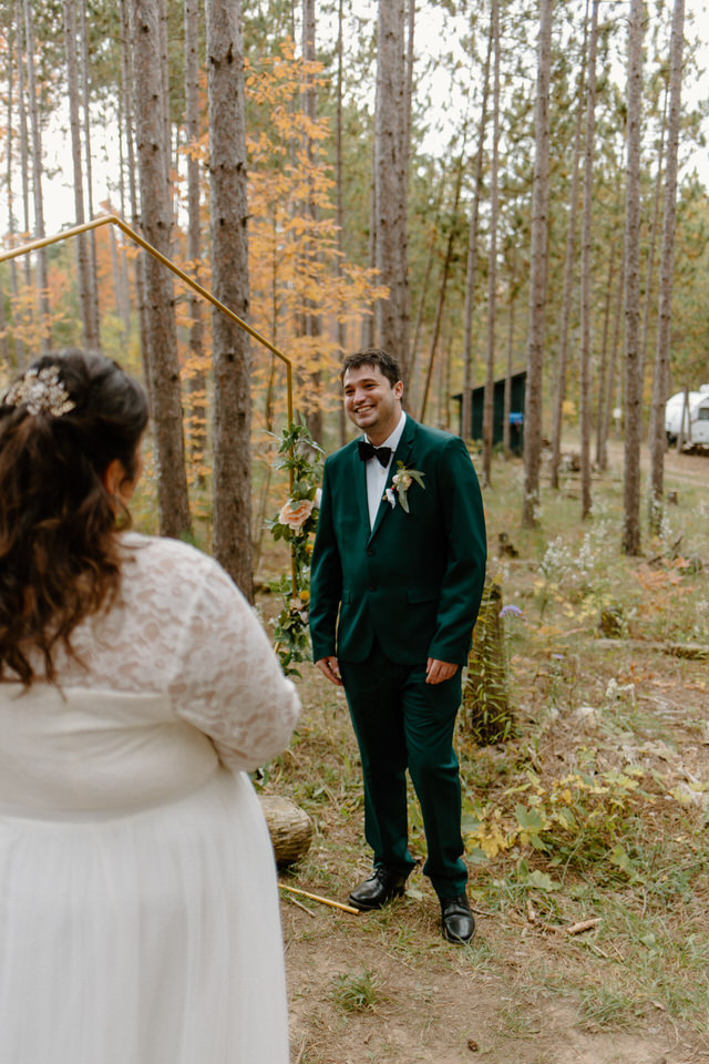 summer camp themed elopement in collingwood