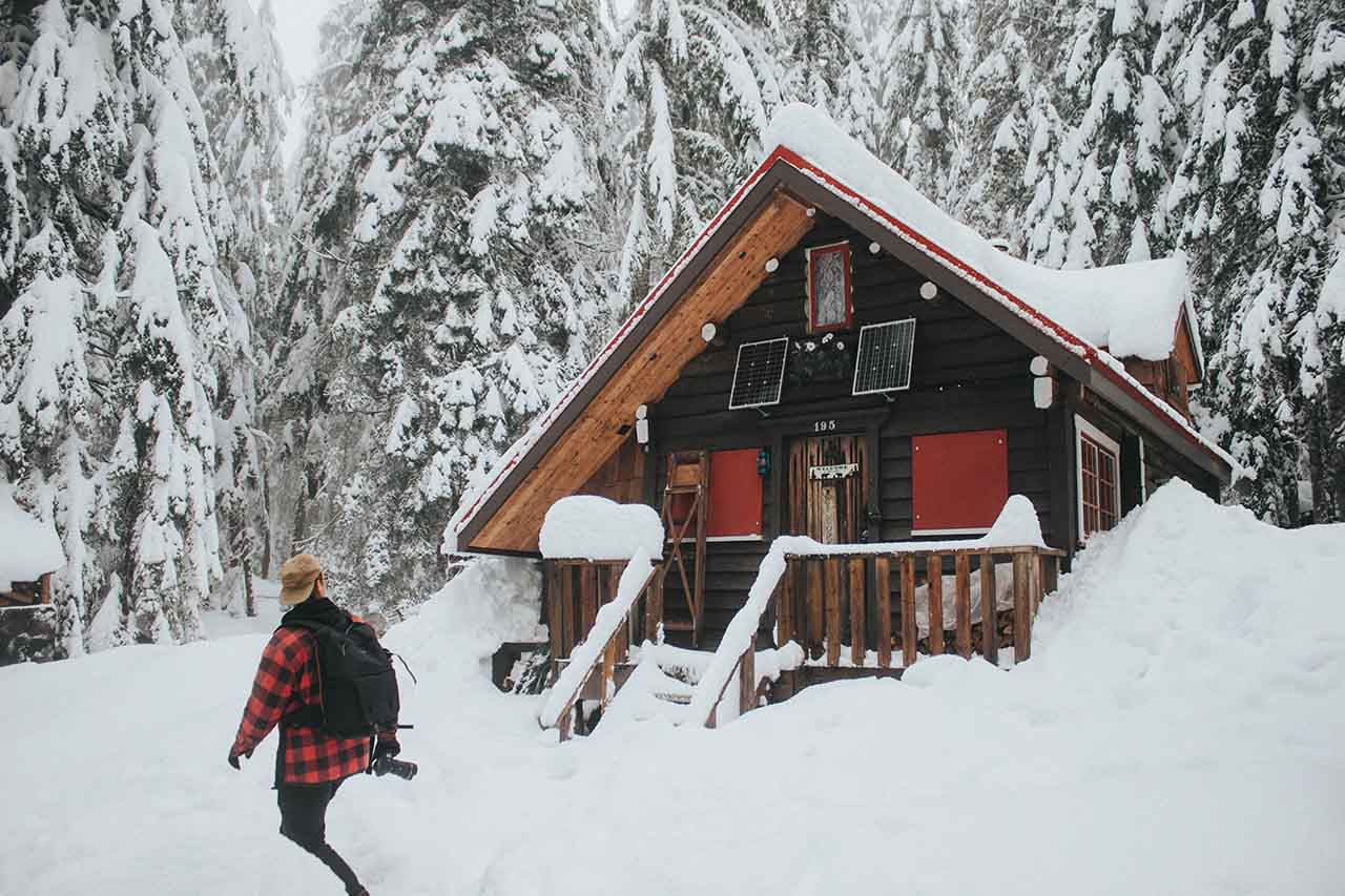 Finding the Cabins on Cypress Mountain