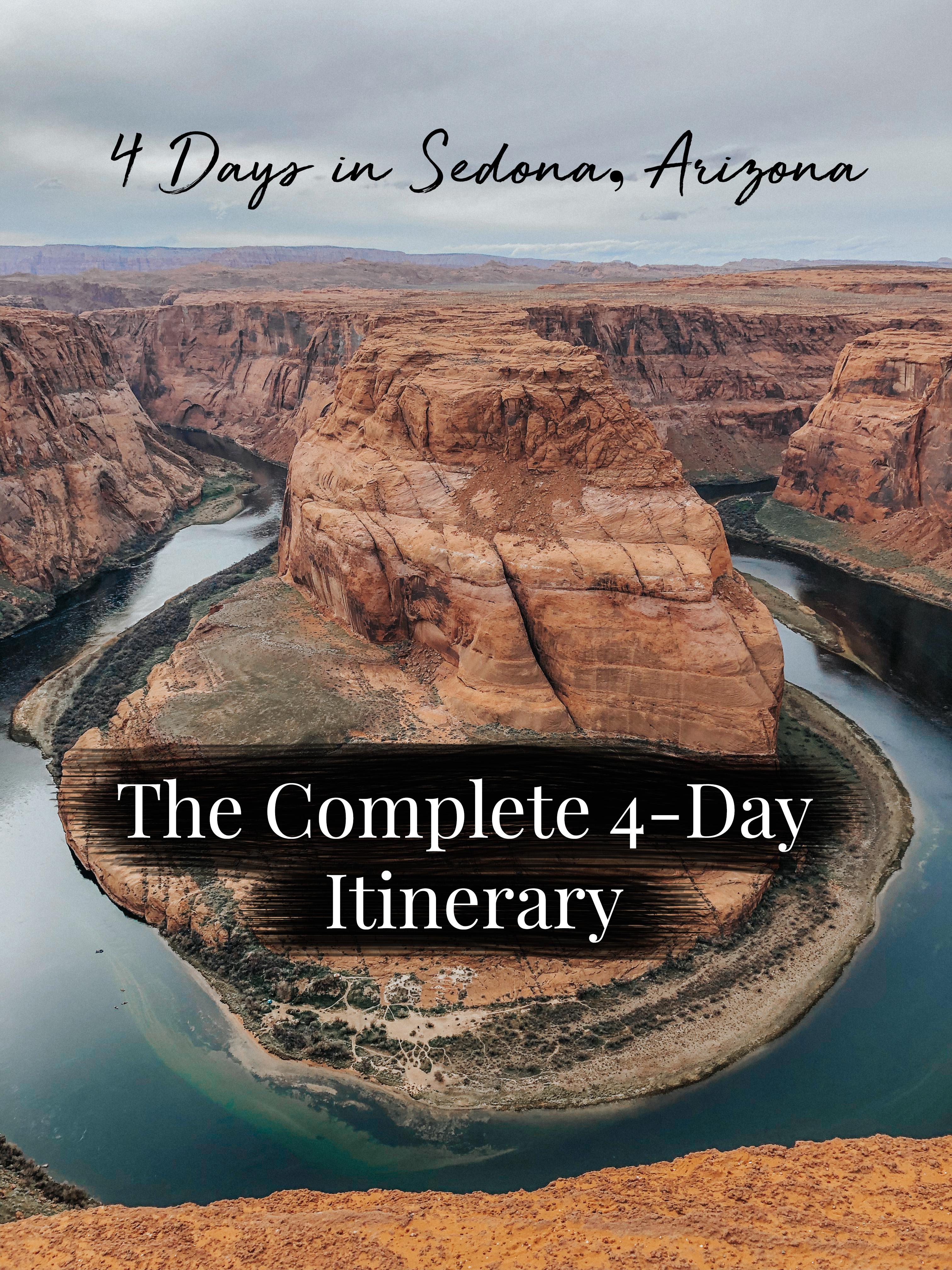 4 Day Sedona Arizona Itinerary