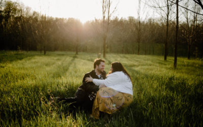 Summer Camp Engagement Session // Michelle + Eli