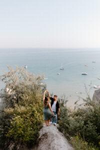adventurous-scarborough-bluffs-engagement