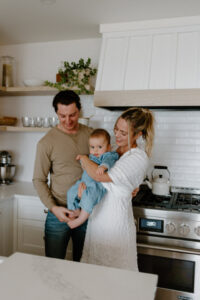 collingwood in home family session