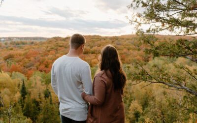 Nottawasaga Bluffs Couples Session // Micaela + Charlie