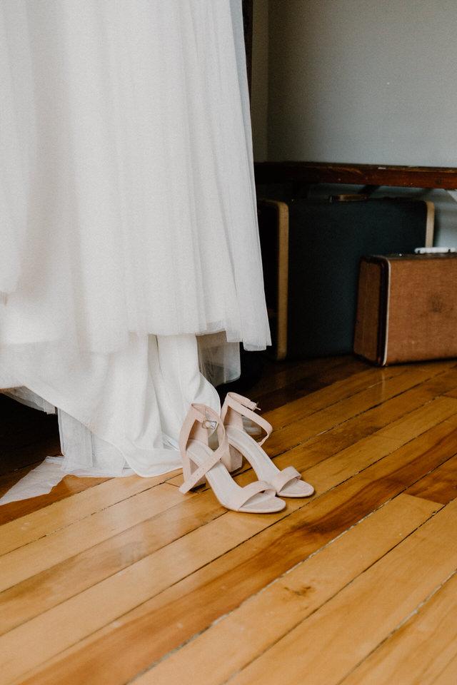 farm wedding in owen sound