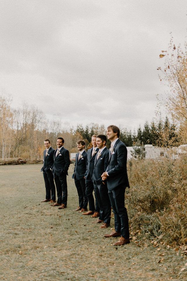 springcreek gavel farm wedding
