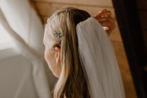 wedding at muskoka a-frame cottage
