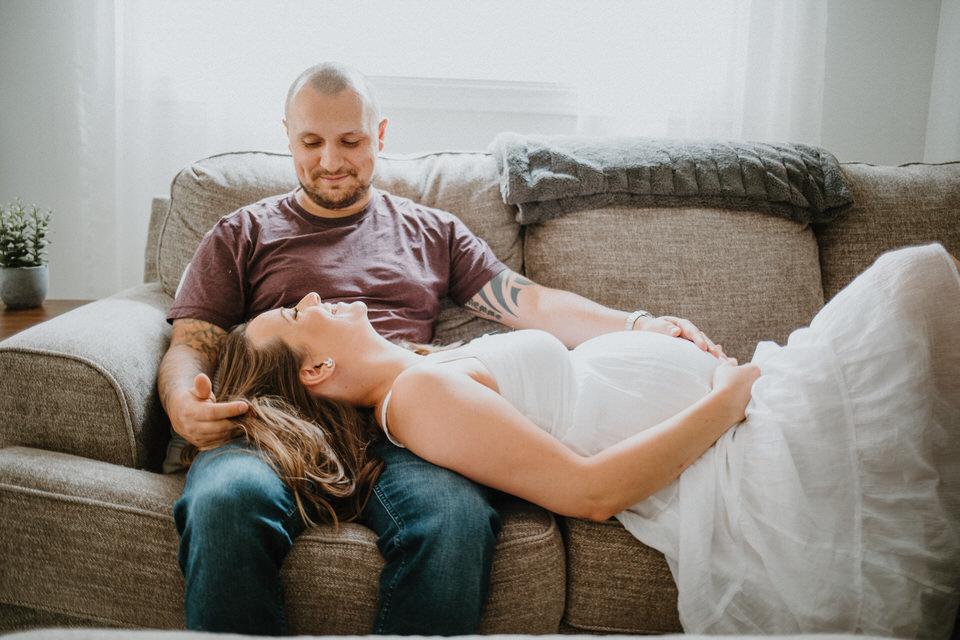 Steph + Chris Maternity Session // Toronto, ON