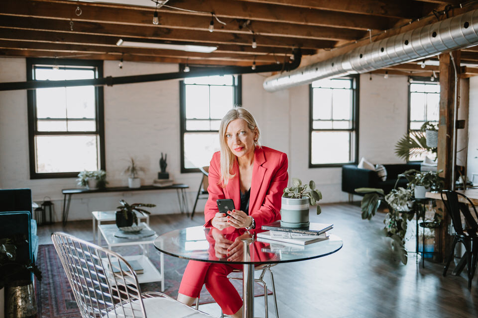 Real Estate Agent Brand Session at Studio Seventy Four - Marie Scholz Photography