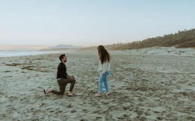 Surprise Proposal in Tofino, British Columbia // Erin + Andrew