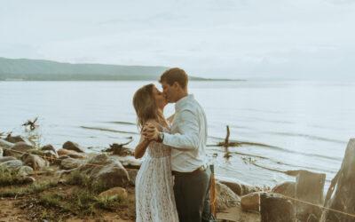 Collingwood, Ontario Engagement // Natalie + Thomas