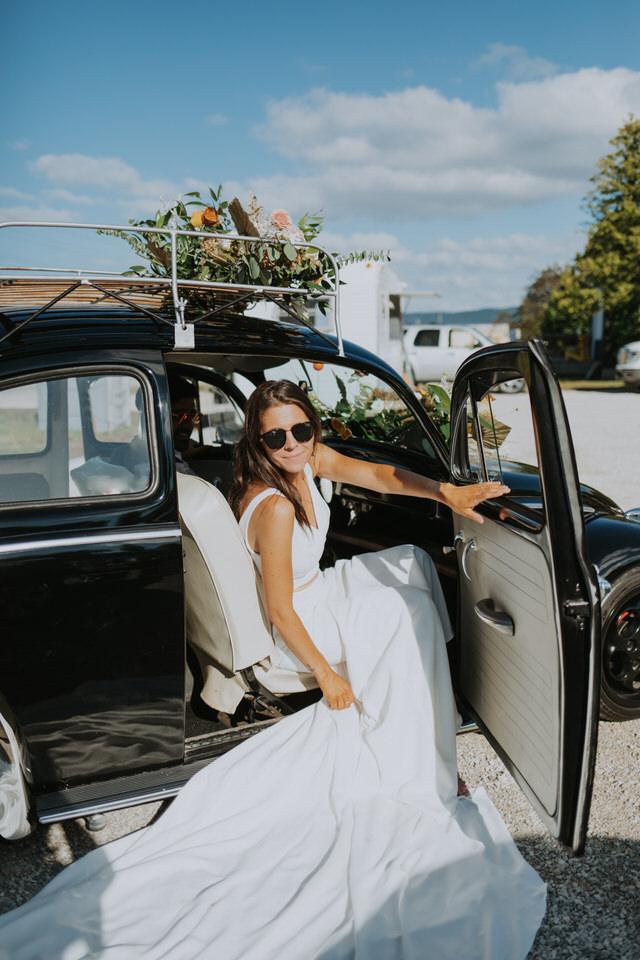 penny's motel wedding in thornbury ontario