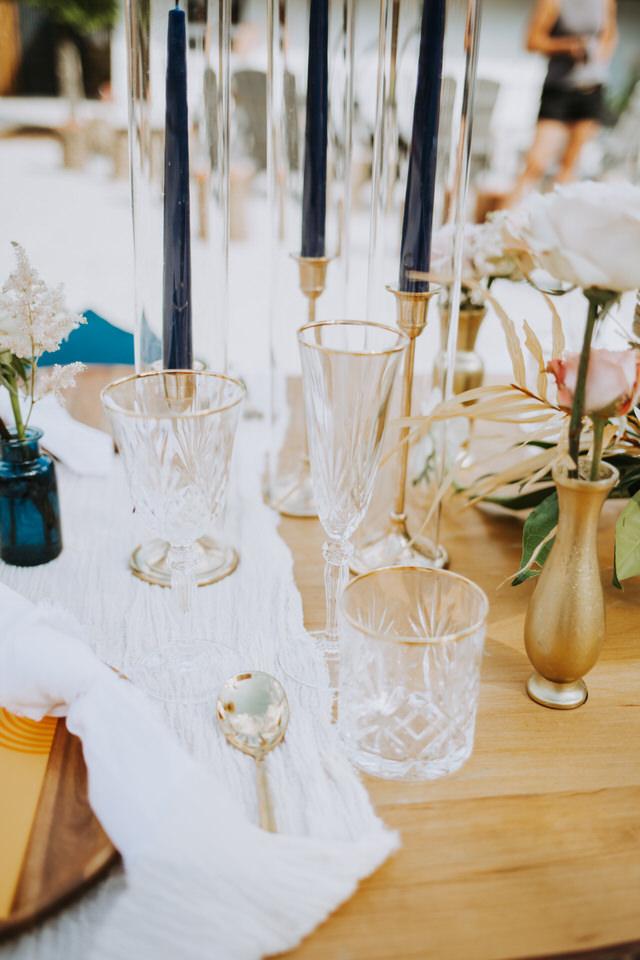 vintage motel wedding in thornbury ontario