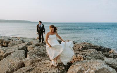 INCREDIBLE BACKYARD MEAFORD MICRO WEDDING
