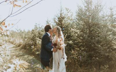 Whimsical Woodland Wedding In South Georgian Bay